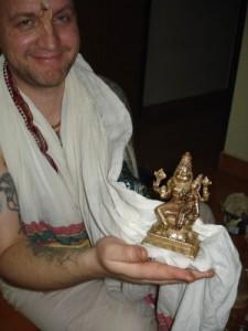 Lakshmi Narasimha puja vigraha